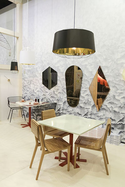 Подвесной абажур Lnt-47 (Lanterna medium pendant lamps Sam Baron)