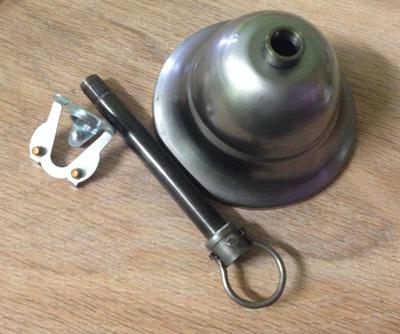 Пример комплекта потолочная чашка на крюк